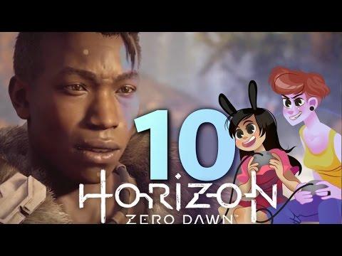 HORIZON ZERO DAWN - 2 GIRLS 1 LET'S PLAY PART 10: HORSE TAMING