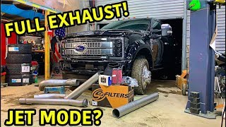 Rebuilding A Wrecked 2019 Ford F-450 Platinum Part 12