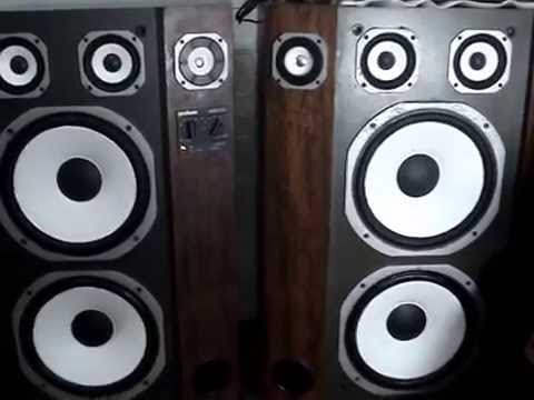 Caixas Acústicas Gradiente Master 200 e Linha A1