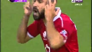 """اهداف مباراة  """" سموحة  vs  الأهلي  """" 1 / 3  ...... الدورى المصرى 2015 / 2016"""