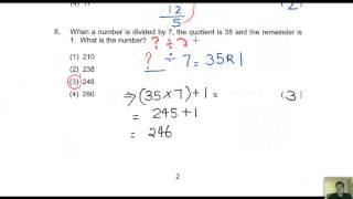 CT1 Maths Exams MCQ 2015