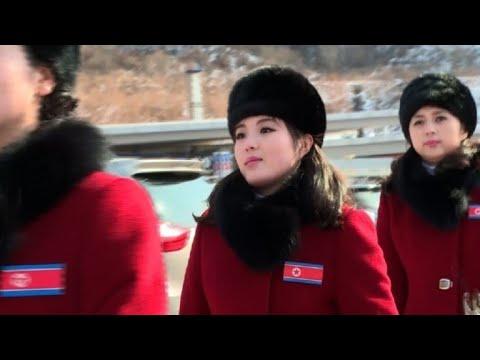 Xxx Mp4 OLY 2018 North Korean Cheerleaders Arrive In South Korea 3gp Sex