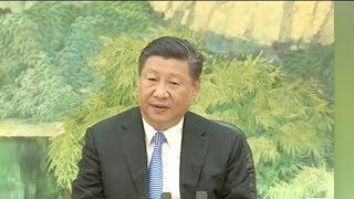Xi meets defense ministers of SCO in Beijing