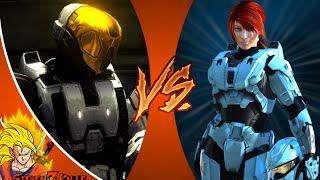 Meta VS Carolina _ Red VS Blue + DEATH BATTLE! REACTION!!!