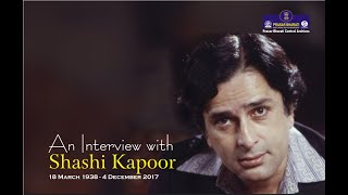 Interview with Shashi Kapoor | Cinema | Birthday | Archives