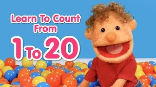 Super Duper Ball Pit   Learn To Count From 1 To 20   Educational Videos For Kids
