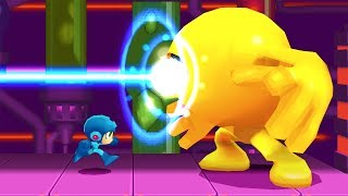 Mega Man Powered Up (PSP) - All Bosses (No Damage/Hard/Buster Only Except CWU 01P & Wily) HD 1080p