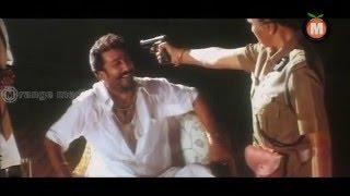 Vilan Killing Lady Police Officer Scene | Tilak Movie | Sarath Kumar | Nayantara