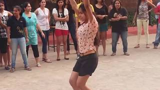 Odisha college girls dance on Prabhu Deva's 'Muqabla'