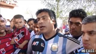 LA BARRA DEL OESTE Y LA FAMOSA BANDA DE SAN MARTÍN - CENTRAL CÓRDOBA VS CHACARITA 2015
