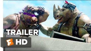 Teenage Mutant Ninja Turtles: Out of the Shadows 'Bebop & Rocksteady' TRAILER (2016) - Movie HD