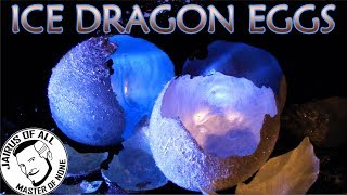 CONCRETE ICE DRAGON EGGS - Easy To Make AND IT WORKS