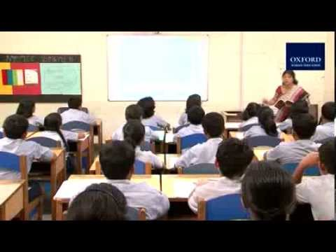 Real-time classroom teaching-learning of New Oxford Modern English with Oxford Educate