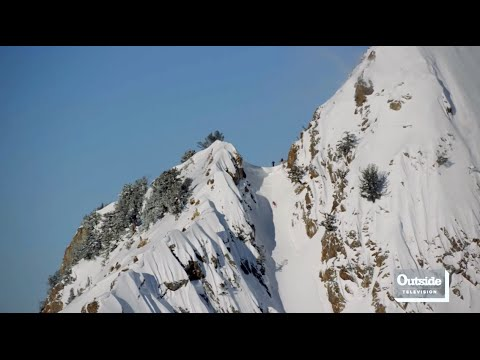 Xxx Mp4 Angel Collinson Skis The Suicide Chute In Salt Lake City Locals 3gp Sex