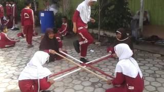 Permainan Tradisional Rangku Alu SDIT Ibnu Sina Nunukan