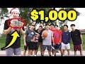 First to Win 1v1 Basketball WINS $1000 vs Strangers!