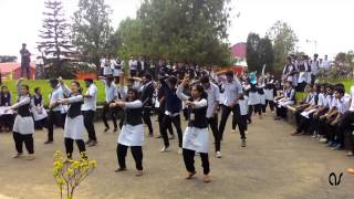 flash mob marian college kuttikkanam radiance15...latest flash mob