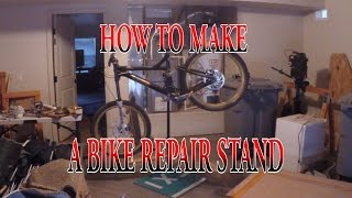 DIY: How to make bike stand