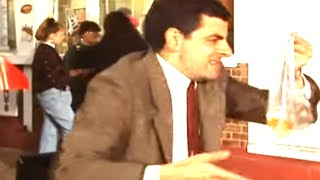 The Leaky Goldfish | Mr. Bean Official