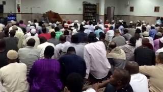 Qari nazrul islam in New York masjid altakwa