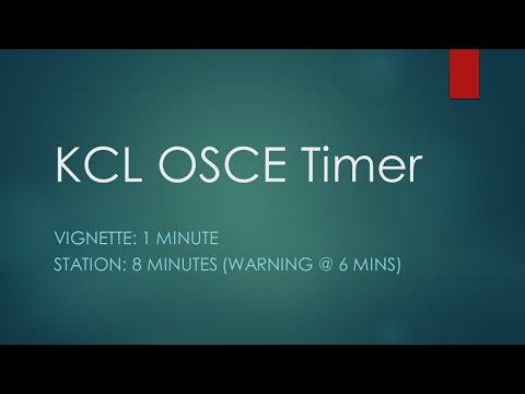 Xxx Mp4 KCL OSCE Timer 8 Mins Vign 1m 3gp Sex