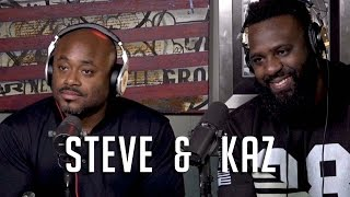 Steve Stoute & Kaz talk TheStashed.com, Nas Ghost Writing for Will Smith + Amazing Kobe Stories !!