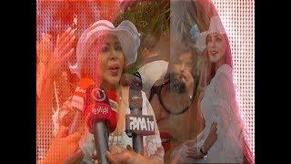 فلة الجزائرية تحتفل بإطلاق شاوالا وتلم شمل عائلة عبابسة