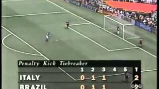 Final Mundial 1994 - Penales (Brasil vs Italia)