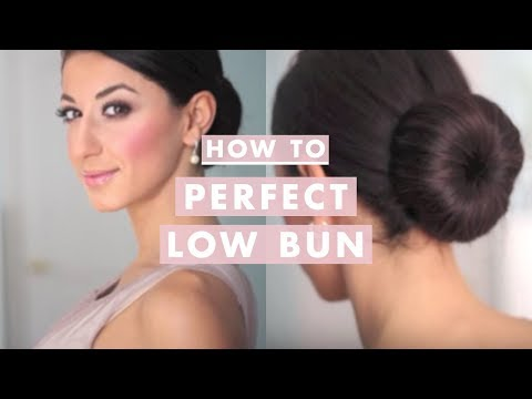 How to Perfect Low Bun