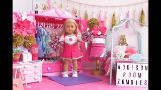 American Girl Doll Bedroom ~ Disney Zombies Addison