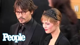 Johnny Depp on the Moment Vanessa Paradis Stole His Heart | People