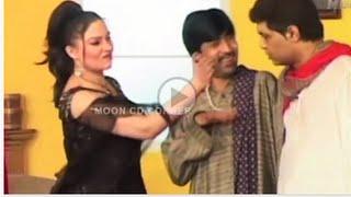 Sajan Abbas & Khushboo  Hot Pakistani Punjabi Stage Drama Full Comedy HD 2016