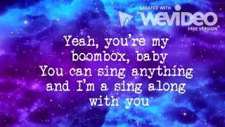 Laura Marano - Boombox ( lyric video )
