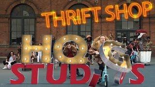 Macklemore Thrift Shop (with lyrics) - by HQG Studios