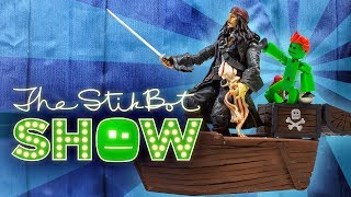 The Stikbot Show 🎬 | The one with Captain Jack Sparrow