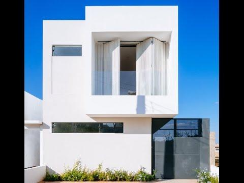 sencilla casa de dos pisos con planos y diseo interior