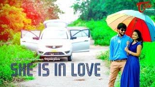 She Is In Love A Romantic Short Film || by Pavan Kumar Vajinepalli || #TeluguShortFilms