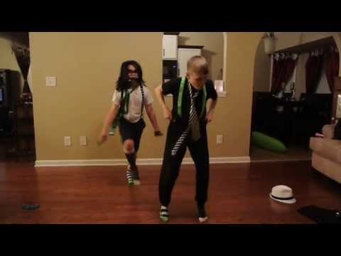 Hilarious!!!! 10 year old boys dancing to