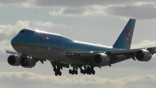 Plane Spotting at London Heathrow Airport, RW09L Arrivals | 18-04-17