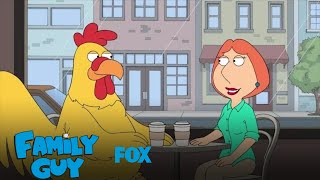 Lois & Ernie Have Coffee Together | Season 15 Ep. 4 | FAMILY GUY