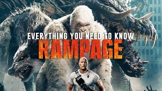 RAMPAGE - Everything You Need To Know from our Set Visit (2018) Dwayne Johnson monster movie