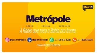 Jornal da Bahia no Ar com Mário Kertész - Eures Ribeiro e Fabrizzio Müller - 16/07/2018