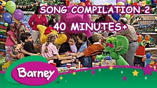 Barney - Song Compilation 2 (40+ Minutes!)