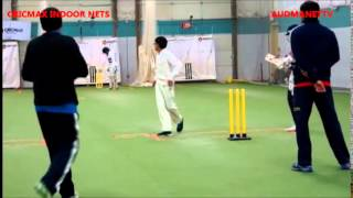 Kids Playing Cricket  at CricMax Indoor Nets New Jersey