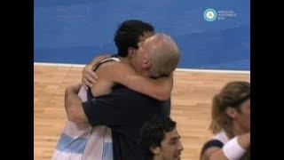 Argentina derrota al Dream Team, Juegos Olímpicos Atenas 2004 (parte I)