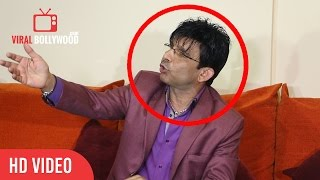 KRK Gets Angry On a Media Reporter For Asking Reason Behind Comparing Shivaay As Himmatwala 2