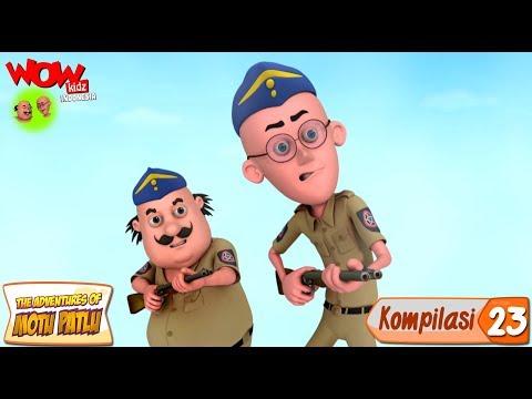 Kompilasi - 23 | Motu Patlu dalam Bahasa - Animasi 3D Kartun | WowKidz Indonesia