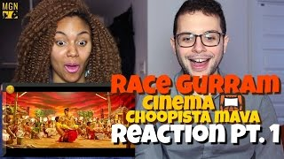 Race Gurram - Cinema Choopistha Mava | Allu Arjun | Shruti Haasan Reaction Pt.1