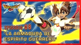 Inazuma Eleven Go Chrono Stones Episodio 8 español – «¡La Armadura de Espíritu Guerrero!»