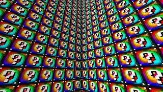 Minecraft 1V1V1V1 RAINBOW LUCKY BLOCK WALLS! | (Minecraft Modded Minigame)